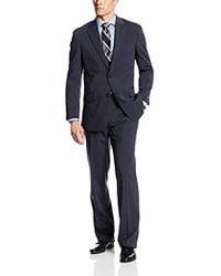 Jones New York - Graham Mini Stripe 2 Button Side Vent Suit - Lyst