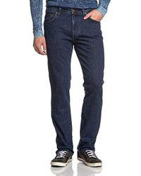 eee22df5 Lacoste L!ive Lacoste L!ve Raw Indigo Slim Fit Jeans in Blue for Men ...