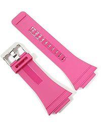 DIESEL Original Watch Strap Lb Dz7133 Rubber Chuck Dz 7133