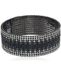 Anne Klein - Ombre Cuff Bracelet - Lyst