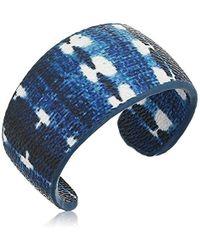The Sak - S Print Covered Cuff Bracelet - Lyst