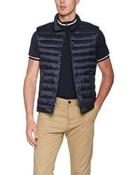 Hackett - Rev Down Gilet Wool Vest - Lyst