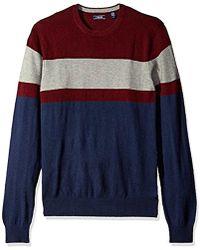 Izod - Fine Gauge Crew Sweater - Lyst