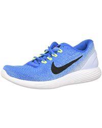 ec61f89fd996 Lunarglide 5 Men s Running Trainers In Grey. £90. Spartoo · Nike -  Lunarglide 9 Running Shoes - Lyst