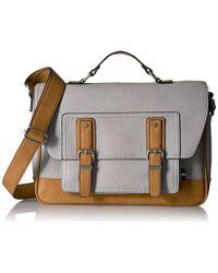 79cbbc10ee7 Lyst - Aldo Chesa Top Handle Handbag in Gray