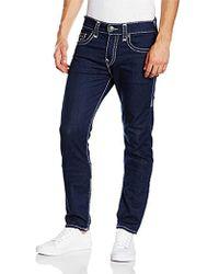 True Religion - Rocco Stretch Super T Jeans - Lyst