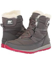 Sorel - Whitney Short Lace Snow Boot - Lyst