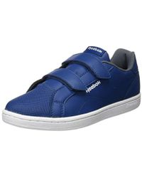Reebok Royal Comp Cln 2v Fitness Shoes in Blue for Men - Lyst 5a2d20469