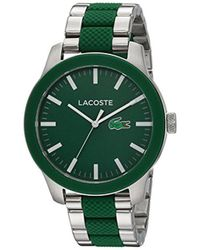 Lacoste - 12.12 Quartz Stainless Steel Casual Watch Multi Color - Lyst