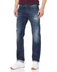 51569657 DIESEL Waykee 0687j Jeans Grey in Gray for Men - Lyst