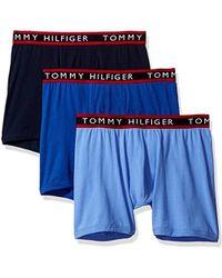 Tommy Hilfiger - Underwear 3 Pack Cotton Stretch Boxer Briefs - Lyst