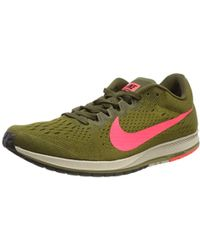 e58fe25e68d Nike - Unisex Adults Zoom Streak 6 Competition Running Shoes Multicolour  Flak flash Crimson