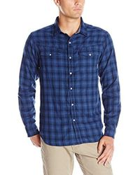 Columbia - Leadville Ridge Double-cloth Long-sleeve Shirt - Lyst