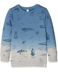 Adidas Originals AOP logo sudadera azul en azul para los hombres ahorrar 68