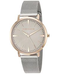 Vince Camuto - Vc/5345tprt Rose Gold-tone And Silver-tone Mesh Bracelet Watch - Lyst