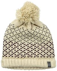 Marc New York - Marc New York Chicago Colorblock Jacquard Beanie With Self Pom - Lyst