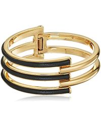 Trina Turk - Sunset Hills Leather Hinge Bracelet - Lyst