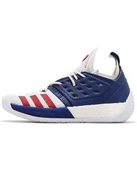 c53c290019b347 Adidas Harden Vol 1 Men s Basketball Trainers (shoes) In White in ...