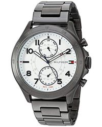 Tommy Hilfiger - Quartz Resin And Stainless-steel-plated Casual Watch, Color Grey (model: 1791341) - Lyst