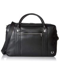 Fred Perry - Pique Texture S Holdall Black - Lyst