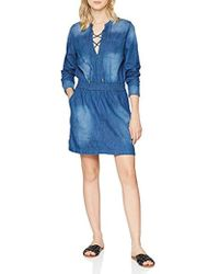 Guess - Long Sleeve Dress - Lyst