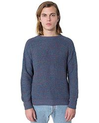 American Apparel - Fisherman's Pullover Sweater - Lyst