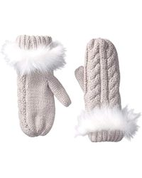 Michael Stars - Cable Knit Mitten - Lyst
