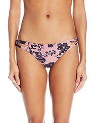 O'neill Sportswear - Luna Loop Side Bikini Bottom - Lyst
