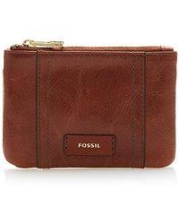 Fossil - Ellis Key Case Leather 12 Cm - Lyst