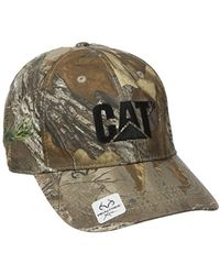 Caterpillar - Trademark Cap - Lyst