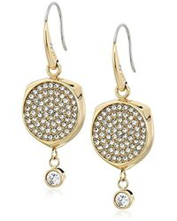 Michael Kors - Beyond Brilliant -tone Drop Earrings - Lyst