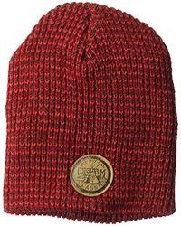 55a080d3620 Wigwam - Flow Beanie Textured Knit Acrylic Hat - Lyst