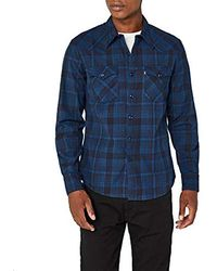 Levi's - Barstow Western Slim Fit Long Sleeve Casual Shirt - Lyst