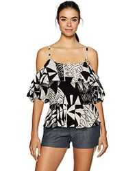 Plenty by Tracy Reese - Flounced Blouse - Lyst