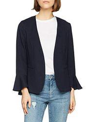 Vero Moda Vmisabel Blazer Suit Jacket - Blue