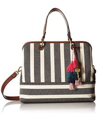 Fossil - Lane Satchel Handbag - Lyst