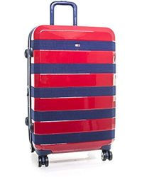 "Tommy Hilfiger - Rugby Stripe 24"" Spinner, Hardside Luggage - Lyst"