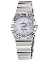 Omega - 123.15.27.60.55.001 Constellation Mother-of-pearl Dial Watch - Lyst