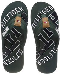 026aba3d8fac04 Tommy Hilfiger Signature Colour Beach Sandals in Blue for Men - Lyst