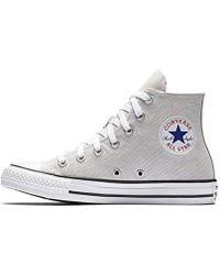 1659ac05fdf39e Converse 50Mm All Star Leather High Top Sneakers in White for Men - Lyst