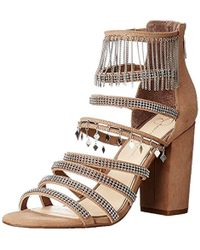 00c5349619a Lyst - Jessica Simpson Rayli Evening Dress Sandals in Brown