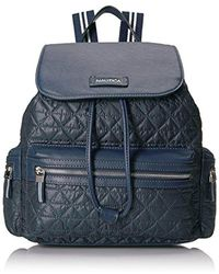 Nautica - Cornado Nylon Quilted Backpack - Lyst