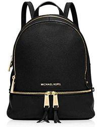 Michael Kors - S Rhea Zip Backpack Handbag - Lyst