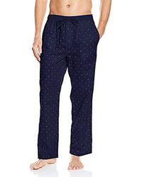 Tommy Hilfiger - Poplin Woven Drawstring Pajama Pant - Lyst