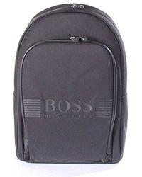 BOSS - Boss Green Pixel Nylon Backpack - Lyst