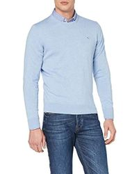 Hackett - Cotton Silk Crew Jumper - Lyst