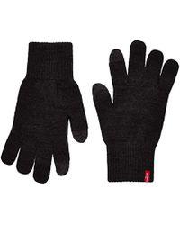 Levi's - Herren Ben Touch Screen Gloves Handschuhe, Schwarz (Black), Large - Lyst