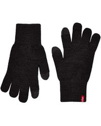 Levi's - Herren Ben Touch Screen Gloves Handschuhe, Schwarz (Black), Small - Lyst