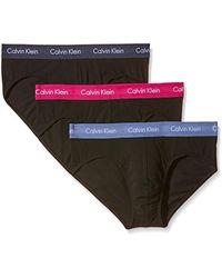Calvin Klein - U2661G - Slip - Lot de 3 - Homme - Lyst