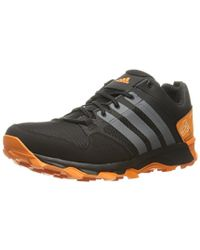 Lyst Adidas for Originals Kanadia Tr Running Shoe in Black for Adidas Men d42e92
